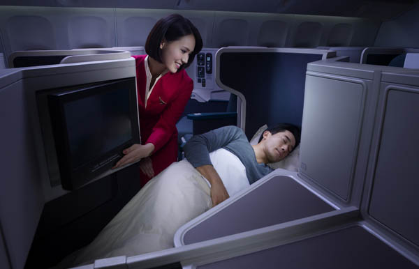cathay pacific business class. Cathay Pacific Business Class